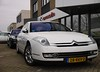 Citroen C6 3.0 V6 HdiF Exclusive (Skylark92) Tags: nederland netherlands holland noordholland northholland nieuwvennep garage johan oldenhage citroën citroen c6 30 v6 hdif exclusive 26rkv2 28rkv2 blanc white wit