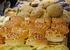 Assortment of baked bread for sale (phuong.sg@gmail.com) Tags: assortiment bake baker bakery basket bio bread breakfast brown bun cereal crust czeh diet dinner dough eating fiber flour food french fresh freshness gold gourmet grain handmade healthy homemade horizontal isolated loaf market meal organic pastry prague republic sale seed studio tasty traditional