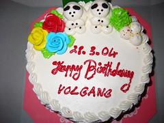 Today Is My Birthday;-) (Wolfgang Bazer) Tags: wolfgang wofgang wolgang volgang geburtstagstorte birthday cake geburtstag torte vientiane laos