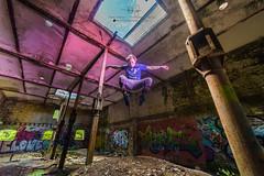 FostographyMedia (24) (Fostography Media) Tags: abandoned building graffiti group landmark landscape people smoke flash mittagong newsouthwales australia au