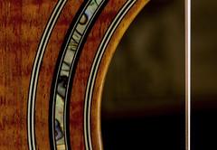 """Sound hole and rosette- """"Circles"""" - Macro Mondays (Karon Elliott Edleson) Tags: koa laravee soundhole rosette macromondays circles guitar instrument strings acoustic acousticguitar 7dwf mondaysanythinggoes"""