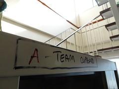 The A Team (stevenbrandist) Tags: liverpool merseyside cupboard ateam building