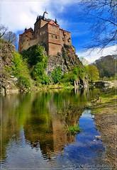 Burg Kriebstein (Christoph Bieberstein) Tags: deutschland germany sachsen saxony zschopau kriebstein burg hra castle ritter mittelalter gotik früling spring mitteldeutschland