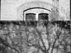 spying (szélléva) Tags: shadow bnw bw windows reflection wall texture
