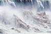 Niagara Falls melting ice - 3807 (RG Rutkay) Tags: americanfalls niagaradaytrip niagarafalls niagarariver glacial ice water spring landscape greatlakes melt