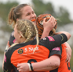 Plaits The Way To Do It (Feversham Media) Tags: yorkcityknightsladiesrlfc castlefordtigerswomenrlfc amateurrugbyleague rugbyleague york northyorkshire yorkshire womenssuperleague yorkstjohnuniversity sportsaction