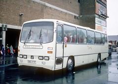 Lloyd, Bagillt KWB 477P (Martha R Hogwash) Tags: kwb 477p bedford yrt willowbrook spacecar national travel north east lloyd bagillt alyn coaches wrexham