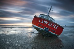 Essex Thorpe Bay (daveknight1946) Tags: essex thorpebay southend longexposure sundaylights riverthames mud ladyalice greatphotographers