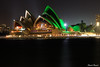 Happy St Patrick's Day (edzwa) Tags: therocks newsouthwales australia au sydneyharbour sydney green stpatricksday longexposure sydneyoperahouse water reflections lights