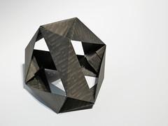 Polyhedron (ISO_rigami) Tags: modular origami 3d a4 polyhedron paper eckhardhennig minecraft