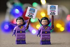 We Need Gleek (Frost Bricks) Tags: lego wonder twins minifigures gleek weneedgleek dc superheroes