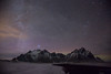 Milky Way over Vestrahorn (Sophie Carr Photography) Tags: vestrahorn milkyway nightphotography mountains stars beach blacksand snow starlight