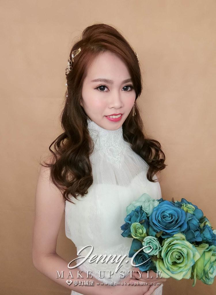 【新秘蓁妮】新娘造型創作 / 韓系氣質造型