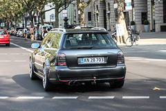 Denmark - Audi RS4 Avant B5 (PrincepsLS) Tags: denmark danish license plate germany berlin spotting audi rs4 avant b5