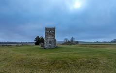 Knowlton March 16 (nicklucas2) Tags: landscape knowlton henge church relic earthwork grass cloud