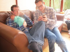 .Bothers James and David Hockey and Maria Xmas 2015 (Twomey-Kavanagh-Hockey & Descendants) Tags: siblings brothers daughter