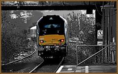 Don't walk the line (geoff7918) Tags: 68013 tyseley birmingham flickrfriends