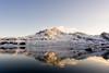 Surprise (CreArtPhoto.ro) Tags: norway lofoten moon reflection sunset water mountain dusk