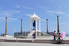 Gandhi statue, Pudycherry P1260367 (Phil @ Delfryn Design) Tags: india2018