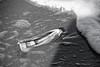 Planche à / Surf / board (deplour) Tags: nb bw coque couteaux razor clam sable mousse sand foam