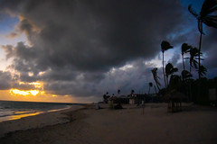 Sunrise on the Beach - Punta Cana Dominican Republic (mbell1975) Tags: puntacana laaltagracia dominicanrepublic do sunrise beach punta cana dominican republic dr island caribbean atlantic ocean surf sand palmtree palm tree trees am morning dawn