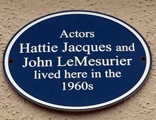 Hattie Jacques and John Le Mesurier