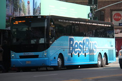 IMG_5600 (GojiMet86) Tags: chariots for hire bestbus nyc new york city bus buses 2017 cx45 805 34th street 9th avenue