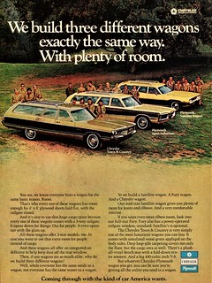 1972 Chrysler-Plymouth Station Wagons