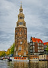 Montelbaanstoren (MrBlueSky*) Tags: montelbaanstoren tower water canal amsterdam oudeschans outdoor netherlands travel architecture