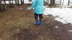 P4070488 (Axelweb) Tags: chubby bbw girl lady female rainwear raincoat pvc shiny wellies rubber boots gas mask plastenky holinky rainsuit rain suit plastic wellington gumboots galoshes gummi gasmask gloves winter