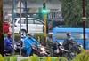 Java East-Malang Rain Traffic 20171211_153231 DSCN0384 (CanadaGood) Tags: asia asean seasia indonesia indonesian java eastjava jawatimur malang rain storm traffic motorcycle canadagood 2017 thisdecade color colour javanese green blue