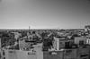 rooftop adventures (taxtamas) Tags: rooftop agadir morocco blackandwhite monochrome buildings
