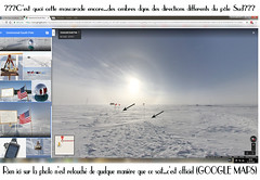 Pole-sud.MichelPayetPhotoGraphy2 (MichelPayetPhotoGraphy) Tags: anomalies photos antarctique glace neige froid pôle sud google maps blanc continent