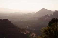 Mist in the valley (s81c) Tags: redrocks sedona schneblyhillroad americansouthwest arizona usa sunset light mist outlook hills corrugatedlandscape panorama canyon roccerosse tramonto luce foschia colline paesaggioondulato valley valle