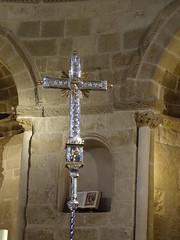 Cruz procesional interior Iglesia San Pedro de Rua Estella Navarra (Rafael Gomez - http://micamara.es) Tags: cruz procesional interior iglesia san pedro de rua estella navarra