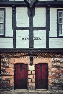 Parish boundary Chester
