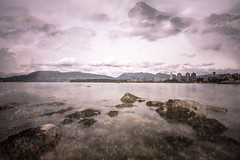 April 14, 2018. (Amanda Catching) Tags: today longexposure light doubleexposure city skyline vancouver