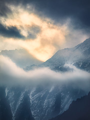Bhutan: Mystery Peaks of Gasa I. (icarium82) Tags: bhutan travel canoneos5dmarkiv layers clouds dramaticsky sunburst captureone gazavalley himalayas mountains mystical sigma100400mmf563dgoshsm peaks mountainrange mysterious cloudscape alpenglow sundaylights