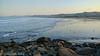 Early Morning Surfers (lorinleecary) Tags: centralcoastcalifornia egrets landscape morrobay ocean waves digitalart manipulatedimage surf textured