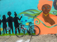 Harlem, New York (Quench Your Eyes) Tags: arte artandresistancethrougheducation artseducation centralharlem humanrights maxinegreenehs mural womenbreakingbarriersglobalwomenheroesproject youthdevelopment art artejustice artist communitybasedorganizations graffiti harlem jails manhattan publicartsprojects schools streetart urbanart wallart women womenpower womenempowerment
