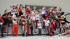 Harley Flash Mob 4 (greyloch) Tags: dragoncon cosplay costumes harleyquinn 2017 canonrebelt6s niksoftware rule63 comicbookcharacter comicbookcostume moviecharactercostume moviecharacter