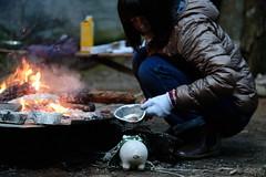 思われつき。 -じゅうとひとつめのお話し- (atacamaki) Tags: xt2 50140 xff28rlmoiswr fujifilm jpeg撮って出し atacamaki ウォルター walter こぶた 豚 ぶた ブタ story japan hcc 焚き火 forest bonfire food おしり winter