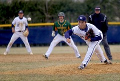 Hit this! (stephencharlesjames) Tags: baseball college sports ball sport pitcher ncaa middlebury vermont action