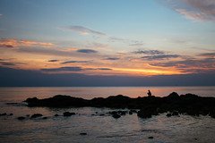 Gone fishing (jrslv_) Tags: sunset lowtide thailand kohlanta andamansea traditionalfishing oceanfishing ocean fisherman