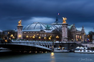 Grand Palais & Pont Alexandre III, Paris