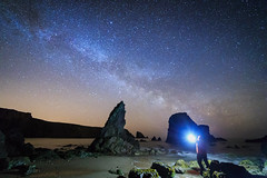 In Awe Of The Stars (Graham Daly Photography (ASINWP)) Tags: ballydowane ballydwan canon6d coppercoast countywaterford grahamdalyphotography ireland landscapephotography nature ocean seascapes artificiallight astro astronomyireland astrophotography coastalimages coppercoastgeopark hahnelcapturremotes imagesofireland irishlandscapephotographer irishlandscapephotography lightpainting milkyway nightphotography nightshoot nightsky outdoors photosofireland reallyrightstuff rolleitripod samyang14mm seastacks stars inaweofthestars lowlevellighting