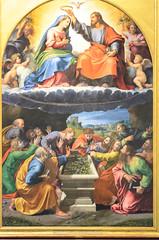 Incoronazione della Vergine (detta Madonna di Monteluce) (Markus Wollny) Tags: city vatikan rom roma lazio italien it