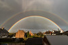 Little Sutton Double Rainbow (Rob Pitt) Tags: little sutton double rainbow canon 1018mm wirral cheshire storm 750d uk clouds rain