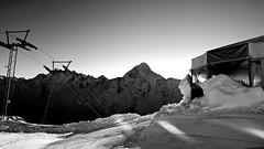 Gandegg (Matt_étranger) Tags: mountain montagna panoramic landscape nature snow powder pow neve schnee lauchernalp swiss alps svizzere alpi wild wile lotschental cielo azzurro blue sky