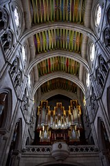 Almudena Cathedral (Jocelyn777) Tags: stainedglass gothic cathedral monuments madrid spain travel
